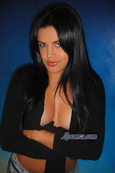 Hot Colombian beauty with raven hair and gorgeous eyes