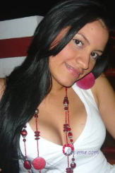 Luz is a cute Colombian girl