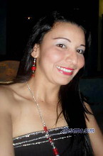 Colombian beauty Denis loves to smile